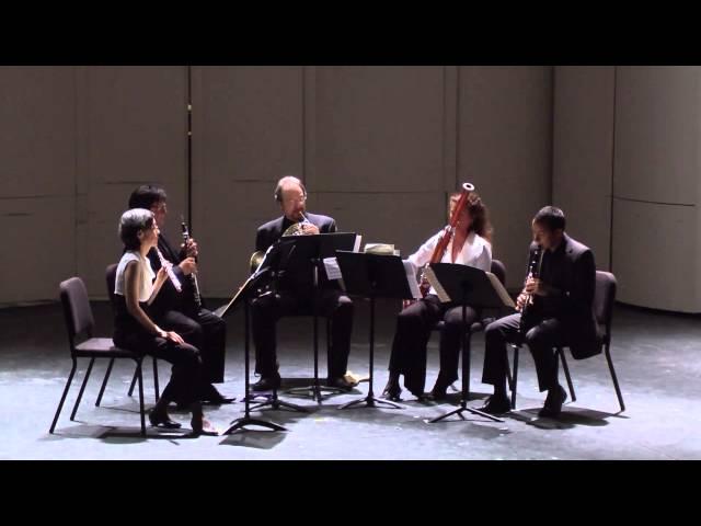 Mexico City Woodwind Quintet, Arturo Marquez, Danza al Medio Dia