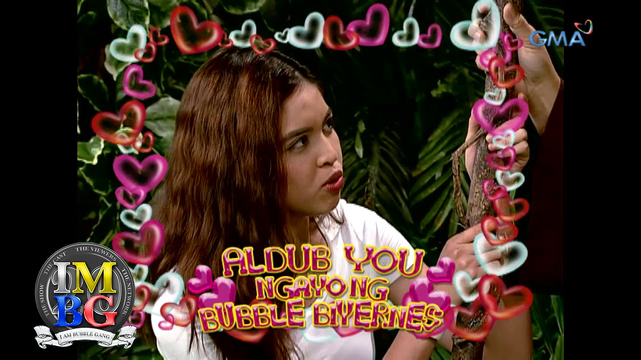 Bubble Gang Ep. 1033: Feel the kilig with AlDub sa 'Bubble Gang'