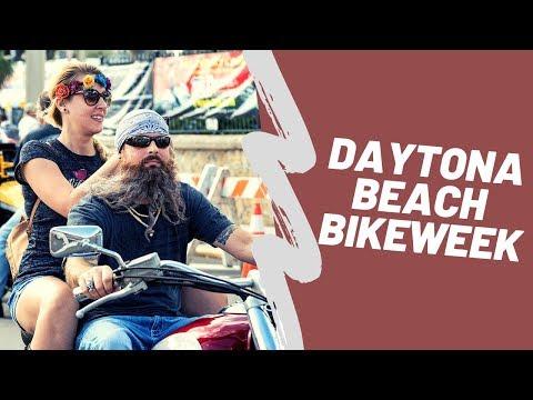 Hot Girls & Hot Bikes - Fun Days In Daytona's Bike Week