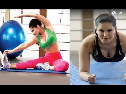 देखिये कैसे Sunny Leone रखती है अपनी HOT Body को maintain