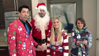 Christmas Crafts Competition- With Drew, Jonathan, iJustine and Jenna