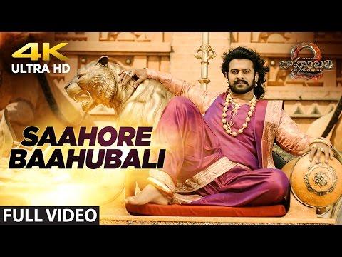 Saahore Baahubali Full Video Song | Baahubali 2 | Prabhas, Anushka Shetty, Rana, Tamannaah |Bahubali