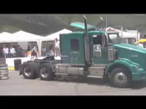 Tractomulas Ecuador 3 carrera de cabezales.