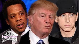 Donald Trump responds to Jay-Z but won't respond to Eminem? Here's the real reason why...