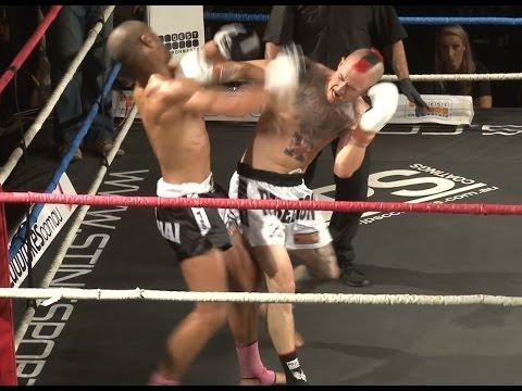Muay Thai Fight - Xavier Vs Fook, Rebellion Muay Thai, Melbourne- 28th November 2015