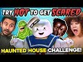 Try Not To Get Scared Challenge (Universal Studios Halloween Horror Nights)
