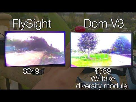 Flysight SPX02, Fatshark Dominator V3 - Review