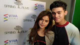 MarNigo Maris and Inigo Sweet sa Kita Kita Premiere Night