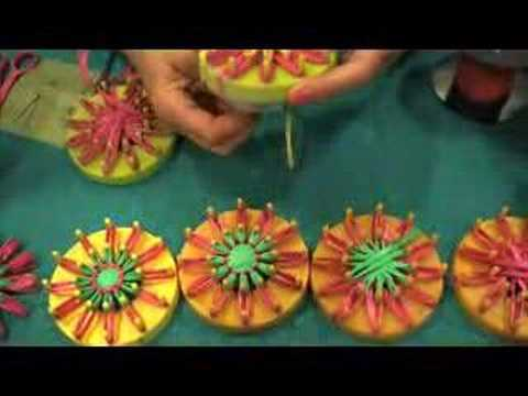 Vintage Flower Looms Craft Video Podcast Youtube