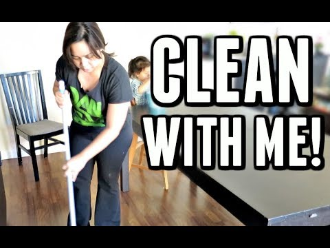 CLEAN WITH ME! -  ItsJudysLife Vlogs