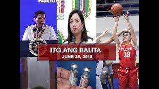 UNTV: Ito Ang Balita (June 25, 2018)