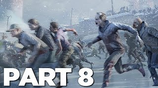 WORLD WAR Z Walkthrough Gameplay Part 8 - THE BUNKER (WWZ Game)