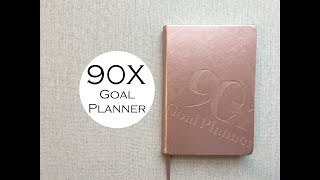 90X Goal Planner { Undated Daily }