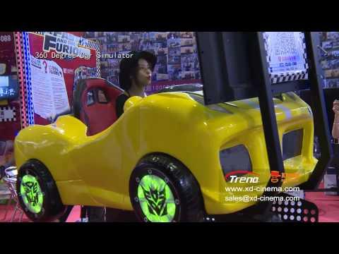zhuoyuan 360 car simulator at GTCFF