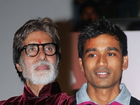 Dhanush visited Amitabh's House and got Blessings