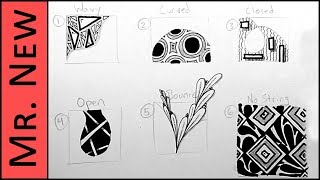 Zentangle for Beginners - Step by Step Tutorial for How to Draw a Zentangle