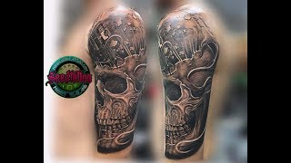 Best tattoo studio in Patong Skull piston done in one session  thanks mate for inked 🙏🏻