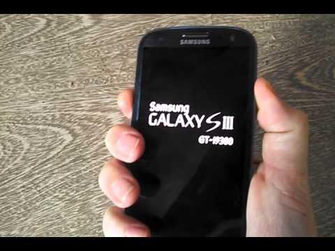 Samsung Galaxy s3 travado na tela inicial (resolvido) ROM Retail