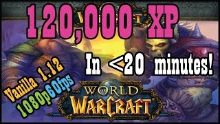 120,000 XP fast and easy in less than 20 minutes (Vanilla / Classic World of Warcraft,)