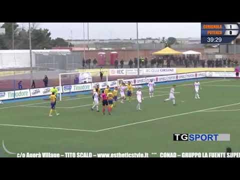 Cerignola-Potenza 1-1. Al gol di Sante Russo, risponde al 90′ Franca