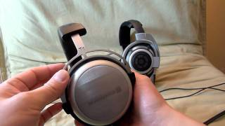 Sennheiser HD800 & Beyerdynamic T1 headphones overview and impressions