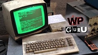 Discovered: C64 used in a Polish Auto Shop (2018)