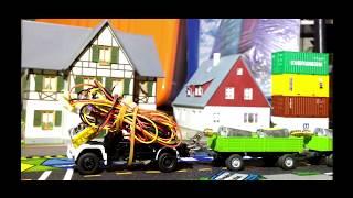 Micro RC 1:87 SIKU Feuerwehr TORQUE TEST