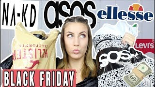XXL Shopping Haul im Dezember + Try on! NA-KD, ASOS, LEVI'S, HOLLISTER,...
