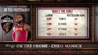 Best Playoff Run Ever? Chris Mannix on LeBron's Historic Postseason   The Dan Patrick Show   5/22/18