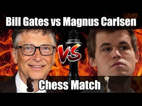 Bill Gates vs Magnus Carlsen   Chess Blitz Match in London   Chess Analysis
