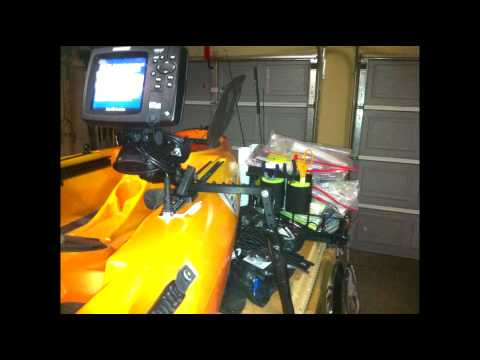 Depth Finder Installation on Multiple Kayaks