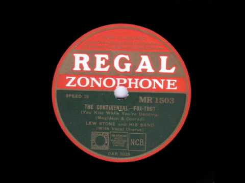 The Continental - Lew Stone & his Band (1934)