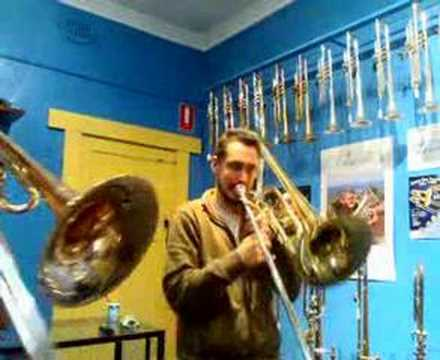 Contrabass Trombone in f Contrabass Trombone Eric Budd