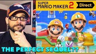 Mario Maker 2's Impressive Nintendo Direct - A NON-FAN's Take! | Ro2R