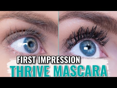 Thrive Liquid Lash Extensions Mascara   First Impression & Review- Better Than Lash Extensions?