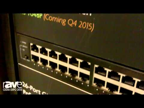 CEDIA 2015: LUXUL Intros 52-Port Stackable and Standalone Gigabit PoE+ Managed Switches