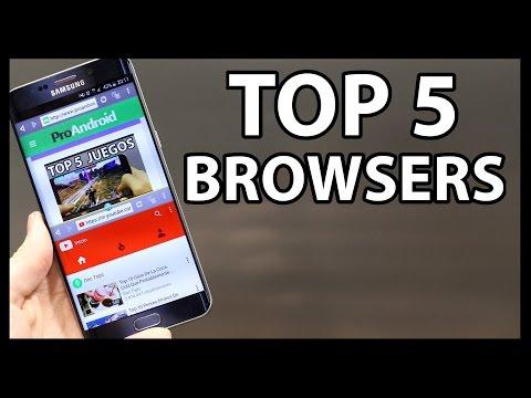 Mejores NAVEGADORES para Android - TOP 5 PROS
