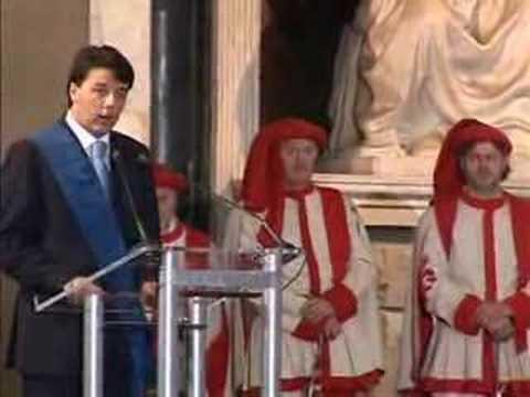 Con Giorgio Napolitano e Rosy Bindi