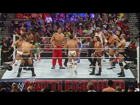 WWE Battleground 2014 - INTERCONTINENTAL CHAMPIONSHIP BATTLEGROUND BATTLE ROYAL WWE 2K14 GAMEPLAY