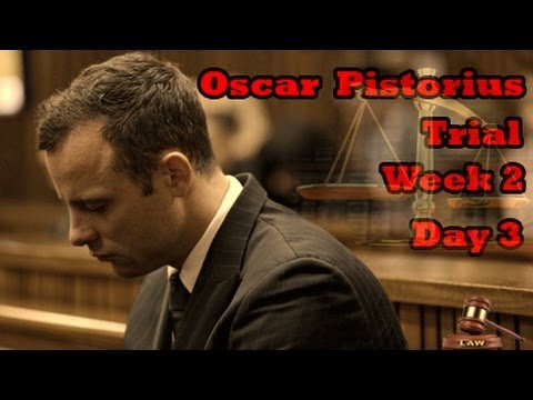 Oscar Pistorius Trial: Wednesday 12 March 2014, Session 3