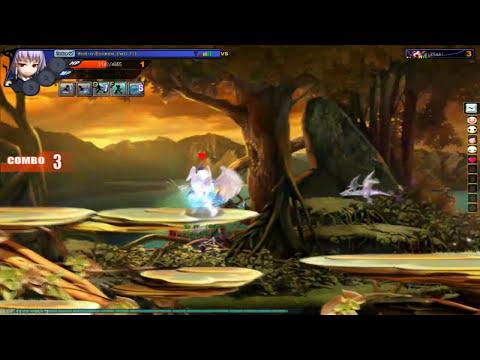 Meu pc jogando contra o xiYuuki  ( GrandChase )