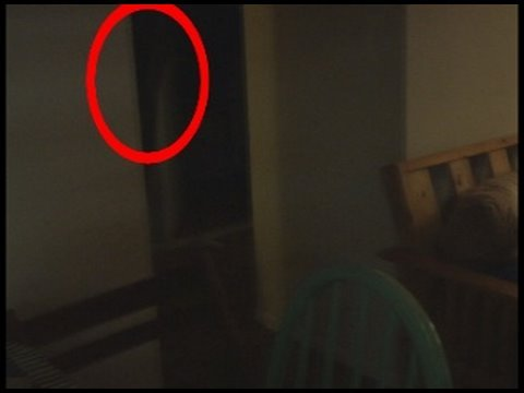 Real Ghost Caught on Video!