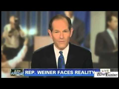 On CNN show, Eliot Spitzer criticized media's role in Anthony Weiner scandal