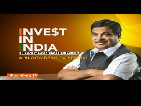 Shri Nitin Gadkari talks to FIIs