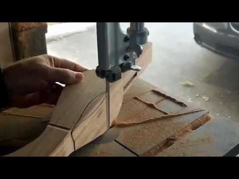 How to make a Queen Anne leg preliminary cuts