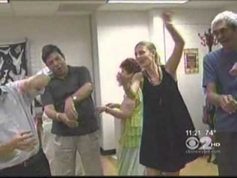 Laughter Yoga at Hospital in New York USA.flv