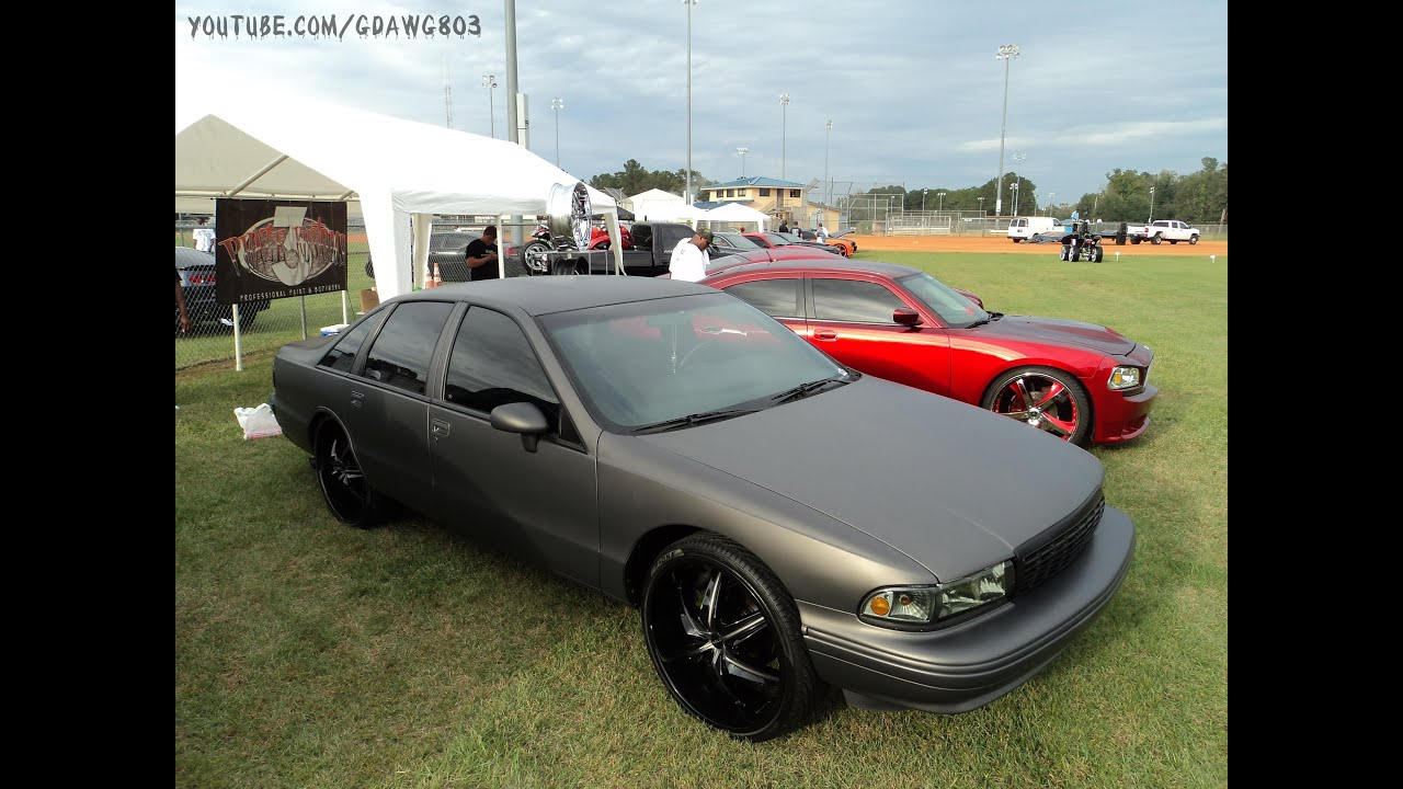 Matte Grey Caprice On 24s At Fall Fest 2013 Youtube