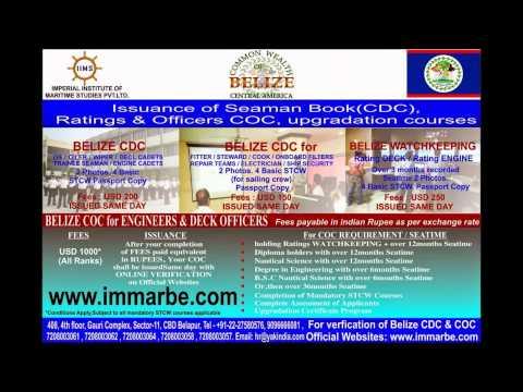 belize cdc nigeria (seaman book) india, ghana, cameroon