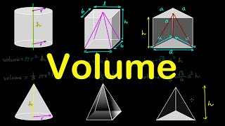 How to find the VOLUME of Cylinder, Cone, Cuboid, Prism, Pyramid for SSC CGL | Mensuration in HINDI