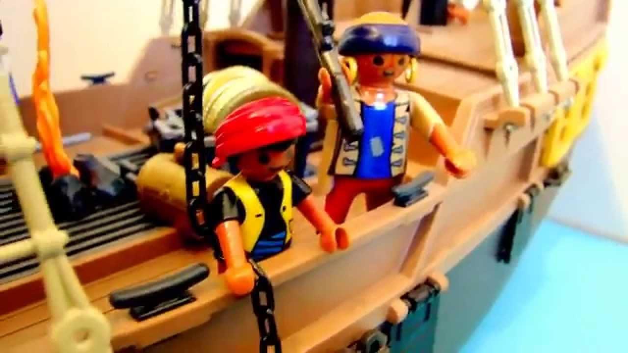 Playmobil pirate film de presentation youtube - Coloriage playmobil pirate ...